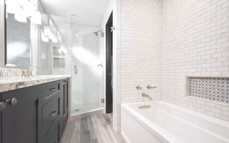 "Luxurious ""Tiny Bathroom"" Remodel"