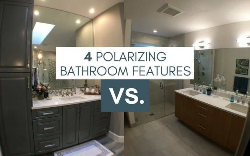 Polarizing bathroom features main
