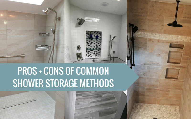 Shower storage main